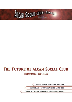 Optical Design & Print - Alcan Mardon Social Club Presentation